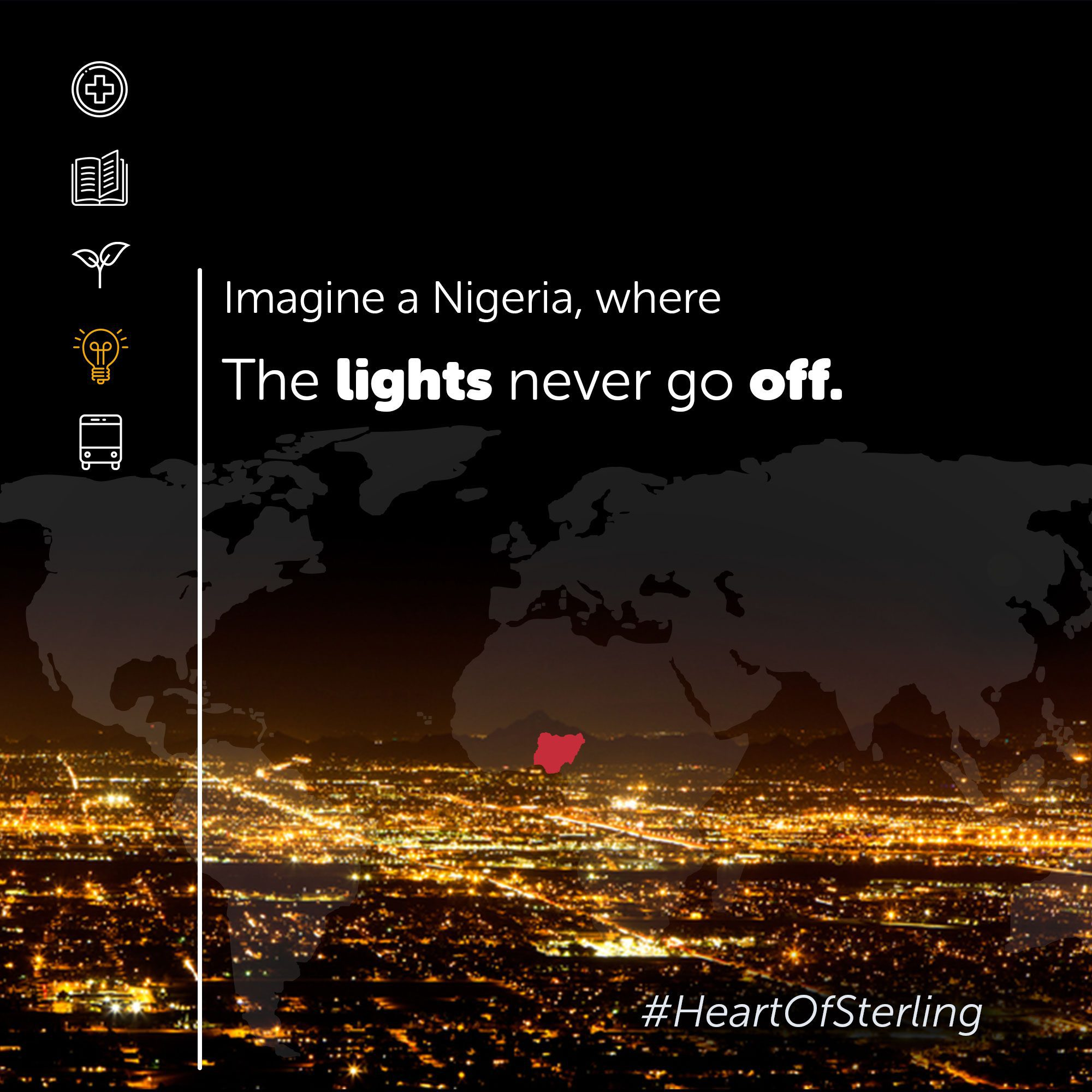 Sterling Bank lights Nigeria's path to accelerated development