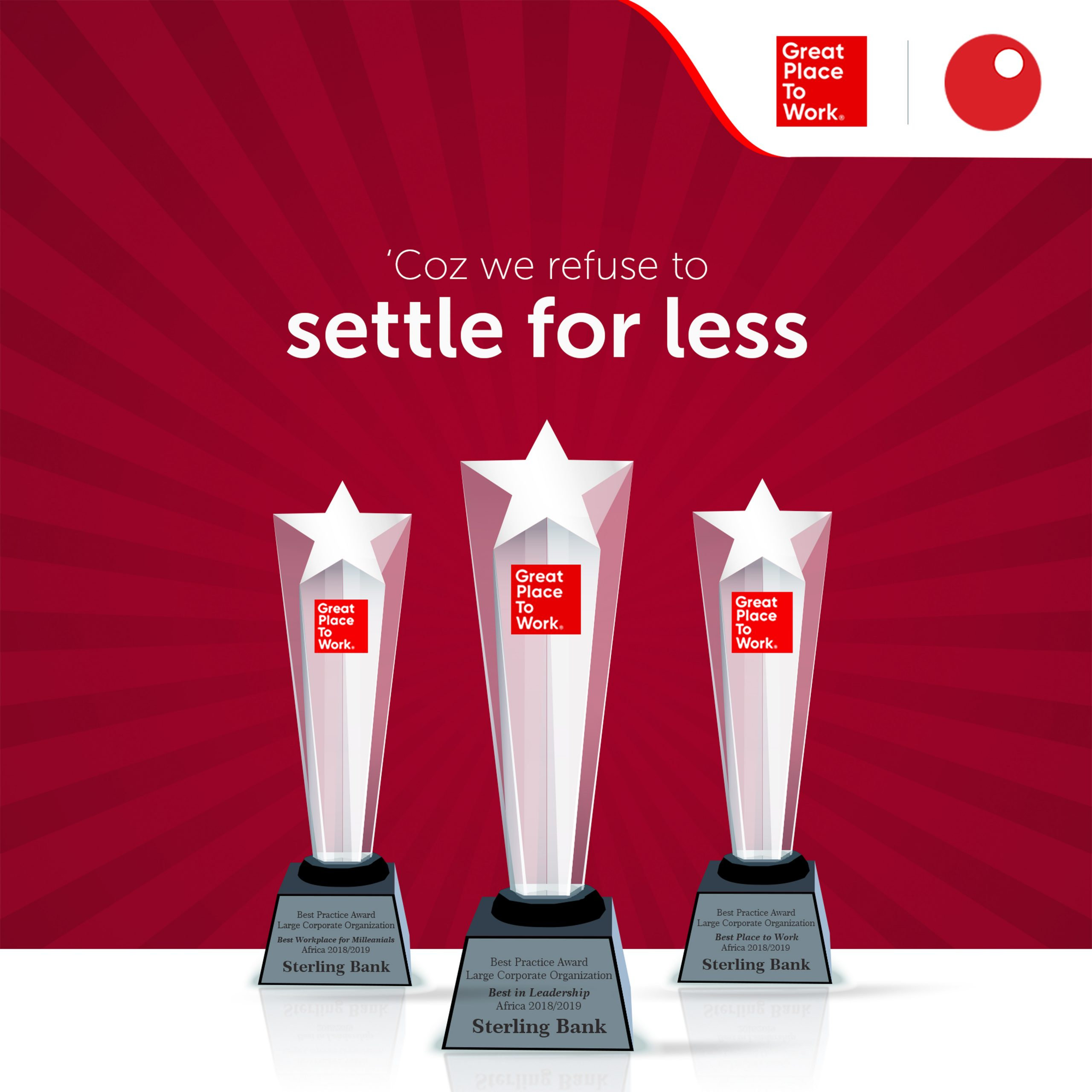 Sterling Bank is top best place to work in Africa