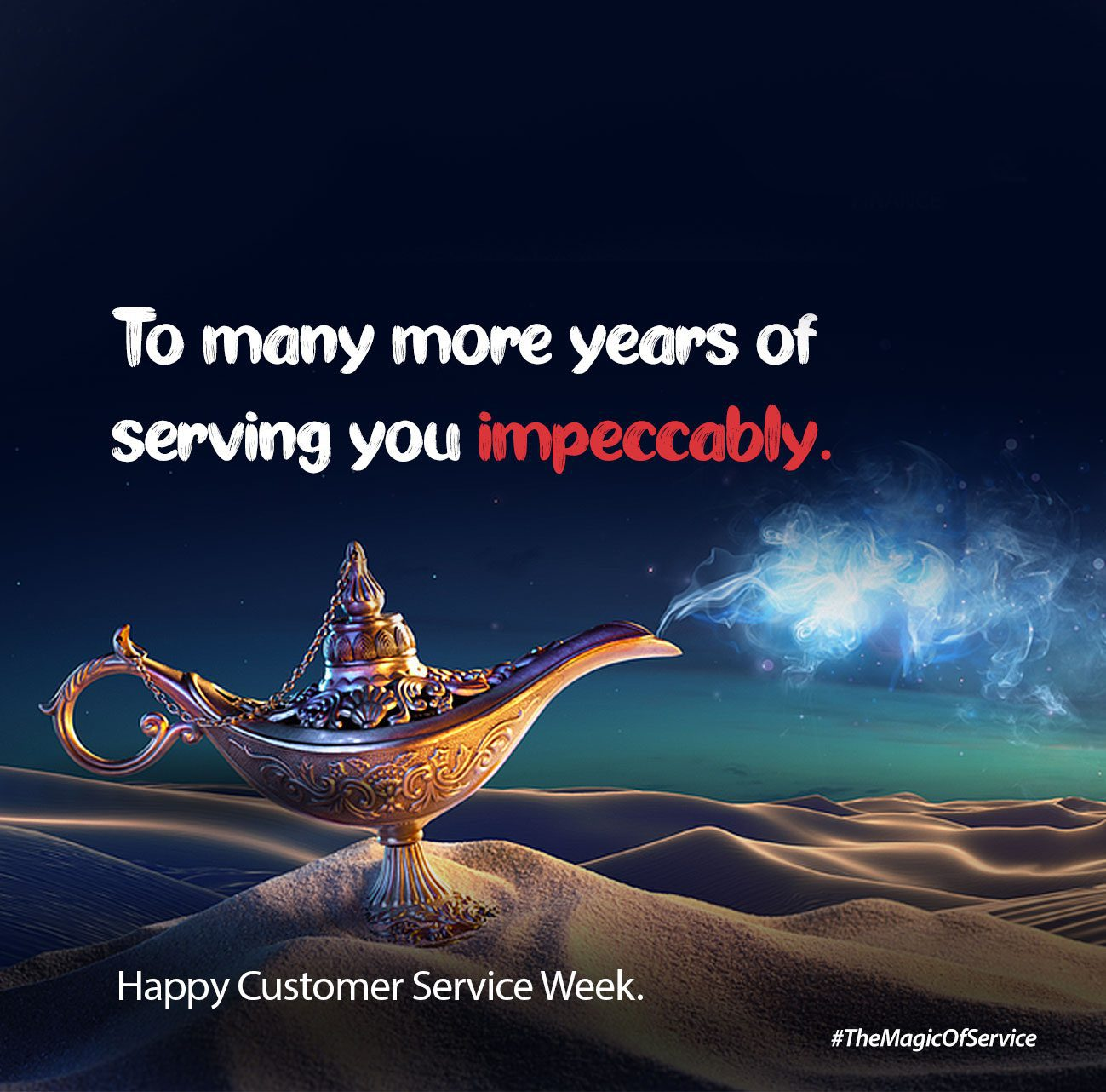 Happy Customer Service Week