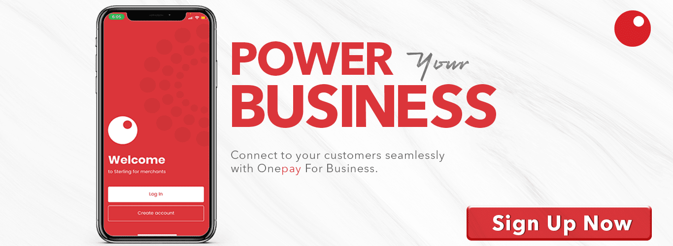OnePay for Business - Sterling Bank
